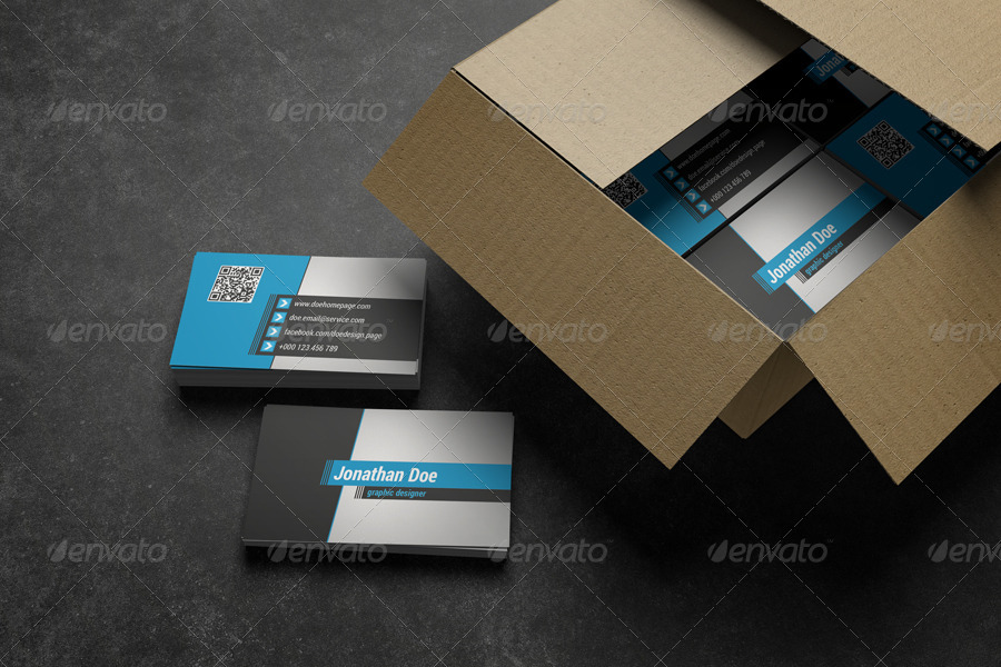 Edgy style business card by eldis design graphicriver for Edgy business cards