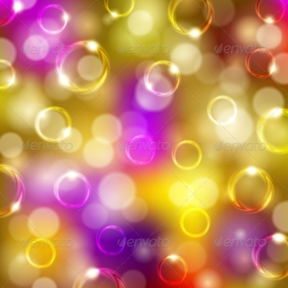 GraphicRiver Bokeh Background with Bubbles 7584954