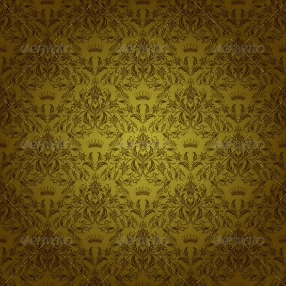 GraphicRiver Damask Seamless Floral Pattern 7584959
