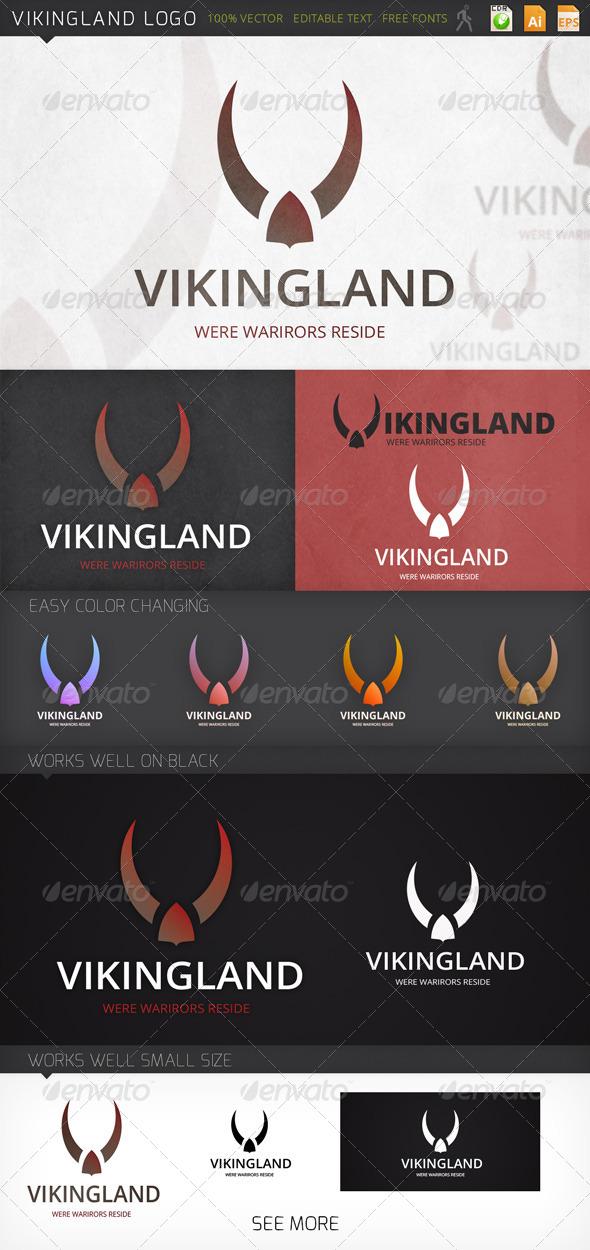 GraphicRiver Vikingland Logo 7585099