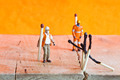Miniature people in action with matchsticks - PhotoDune Item for Sale