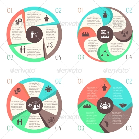 GraphicRiver Meet People Online Infographic Pictograms Set 7585116