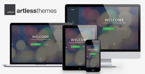 ThemeForest Flato Parallax One Page WordPress Theme 7466762