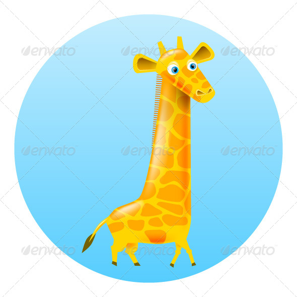 GraphicRiver Giraffe Illustration 7585369