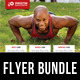 3 in 1 Sport Activity Flyer Bundle 07 - GraphicRiver Item for Sale