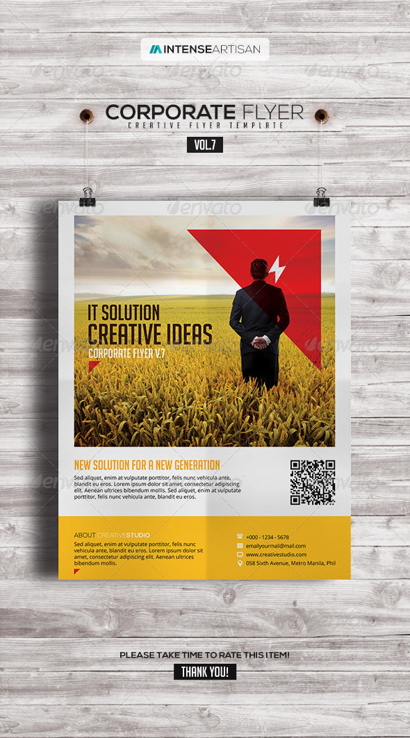 GraphicRiver Corporate Creative Poster Flyer V.7 7582860