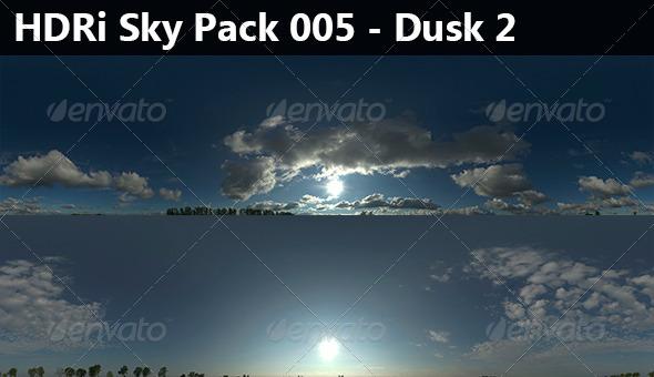 2 HDRi Sky pack 005 - Dusk 2