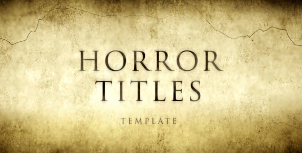 Horror Movie Titles