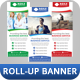 Corporate Roll-up Banner Vol 5
