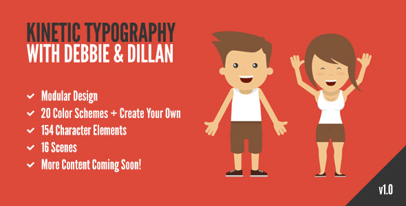 Kinetic Typography with Debbie & Dillan