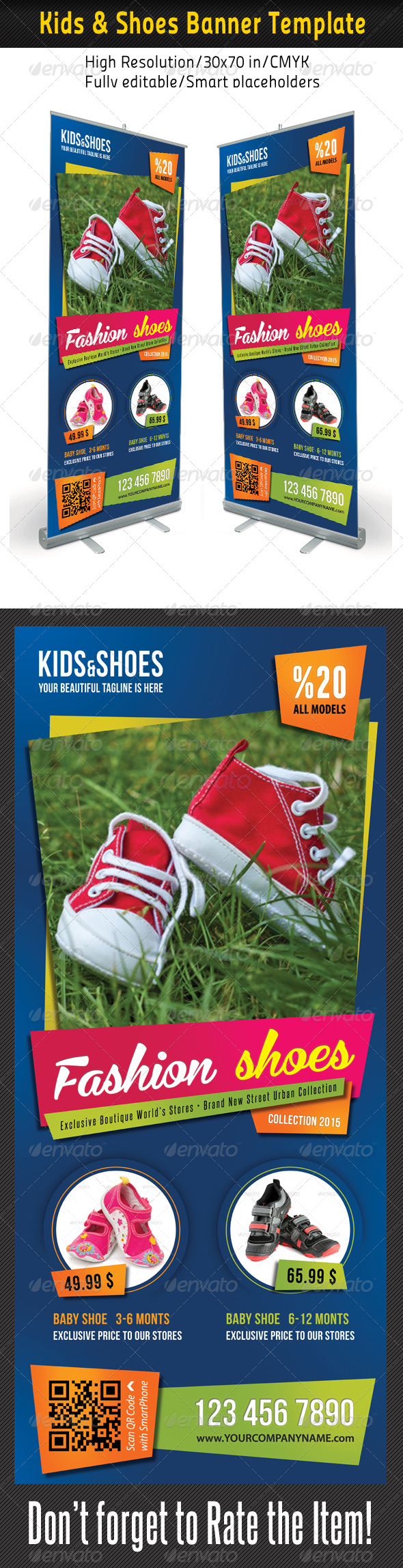 GraphicRiver Kid And Shoes Banner Template 02 7586152