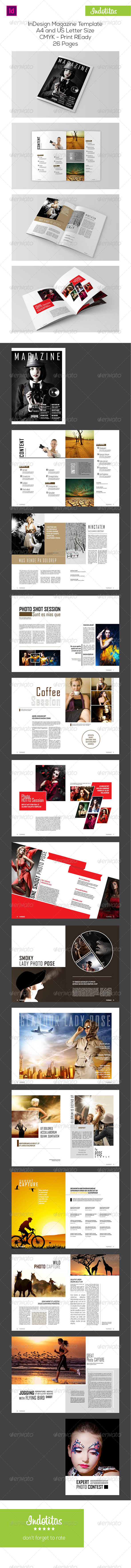GraphicRiver InDesign Magazine Template 7586419
