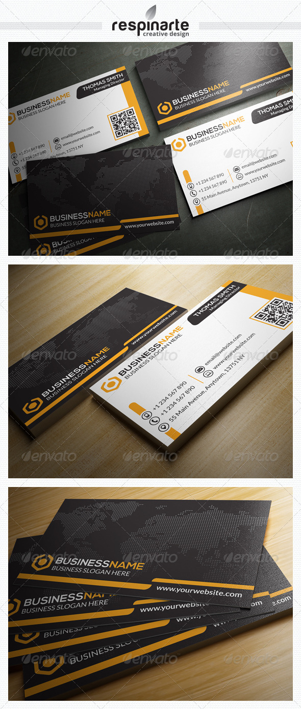 GraphicRiver Corporate Business Card RA11 7586558