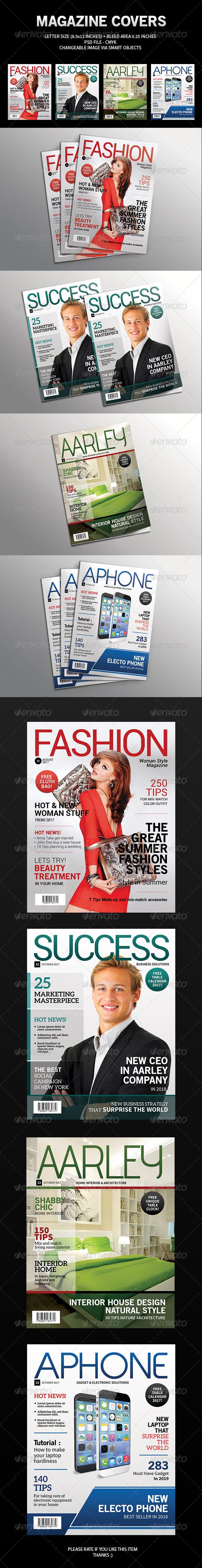 GraphicRiver Magazine Cover Template 7586803