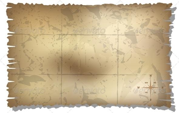 GraphicRiver Treasure Map 7586982