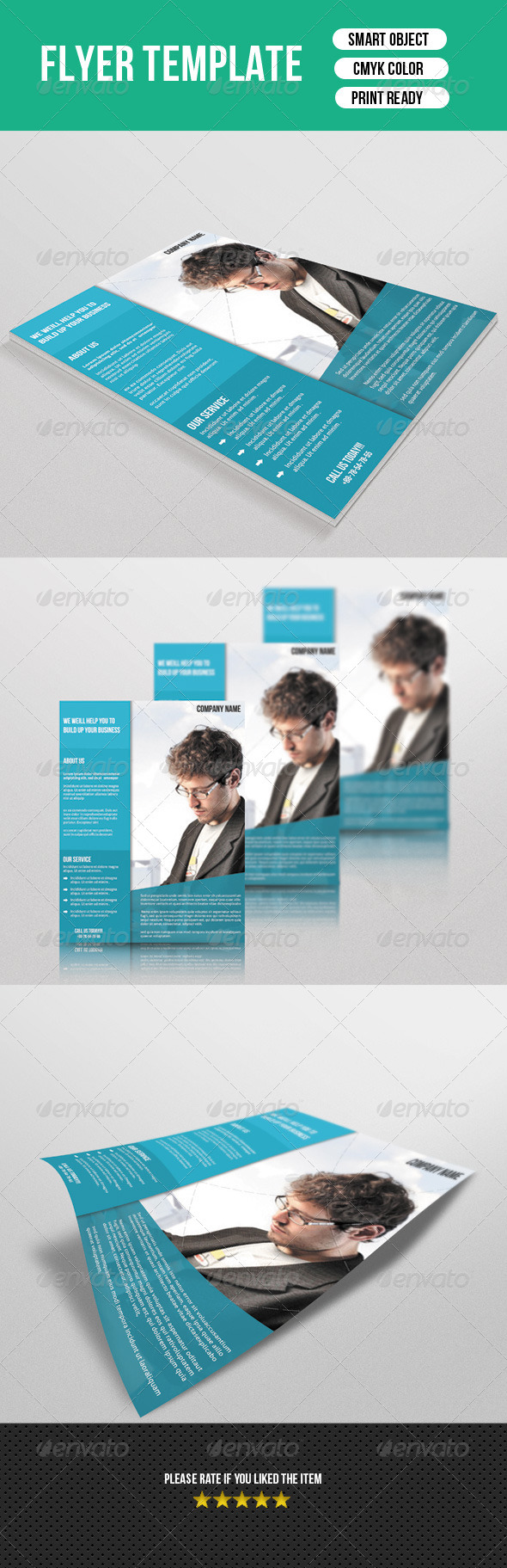 GraphicRiver Corporate Flyer Template 7570219
