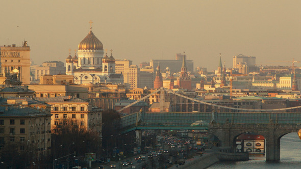 Panorama Of Moscow 1