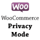 AJ WooCommerce Privacy Mode