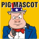 Pig Mascot Template - GraphicRiver Item for Sale
