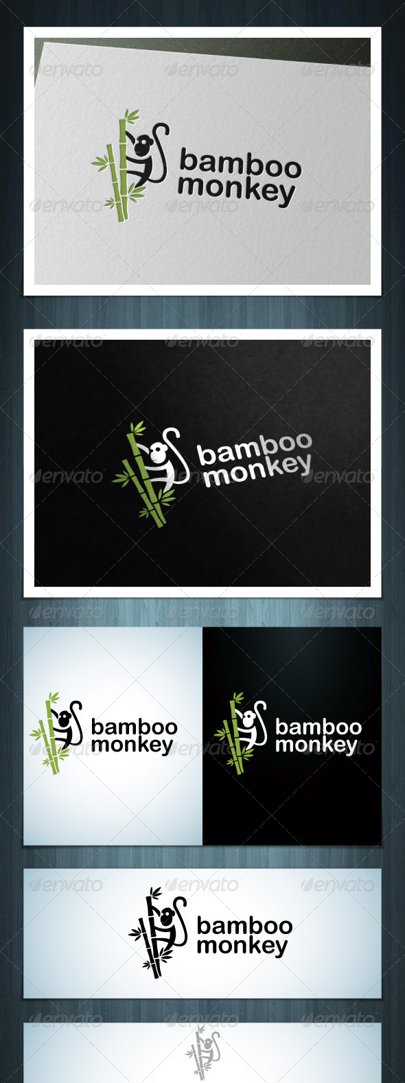 GraphicRiver Bamboo Monkey 7564477
