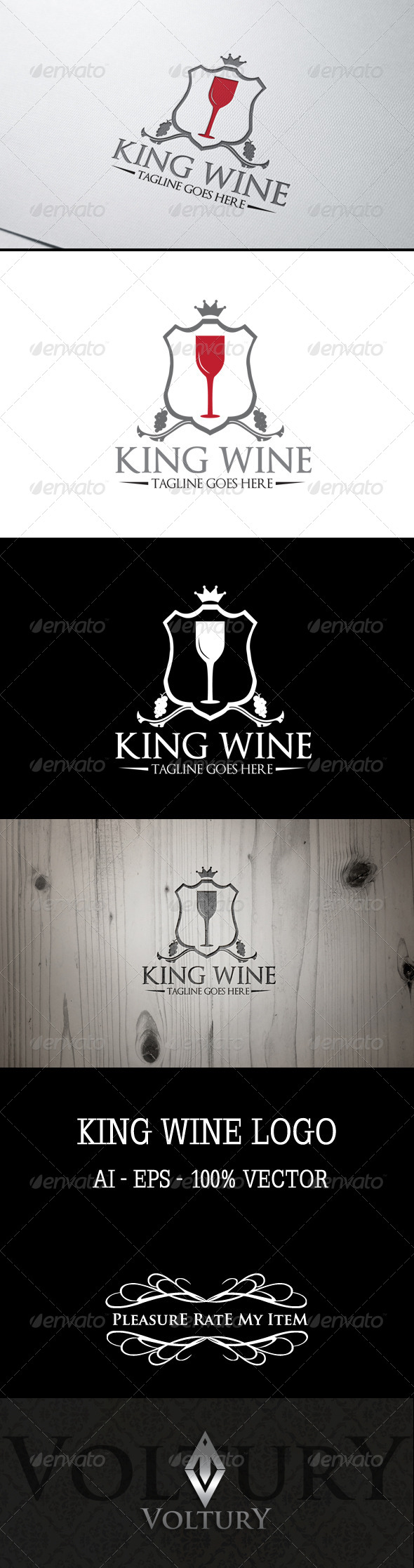 King Wine Logo