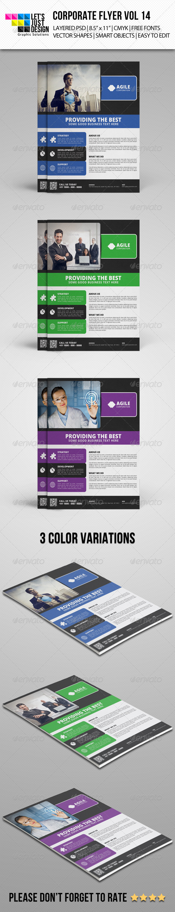 GraphicRiver Corporate Flyer Template Vol 14 7586265