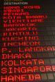 flight board information