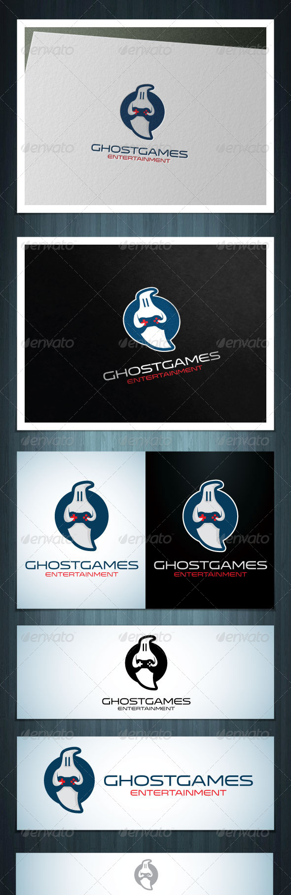 GraphicRiver Ghost Games 5619042