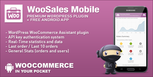 WooCommerce WooSales Mobile - CodeCanyon Item for Sale