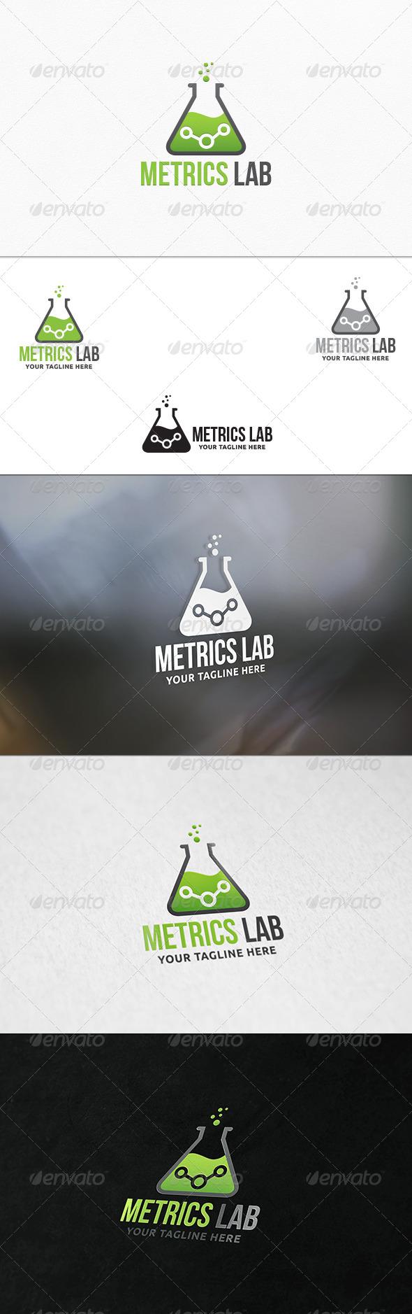 GraphicRiver Metrics Lab V2 Logo Template 7591470