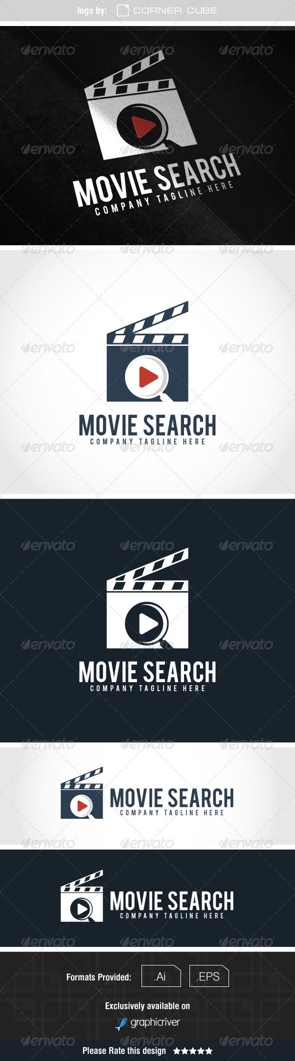 GraphicRiver Movie Search Logo 7591678