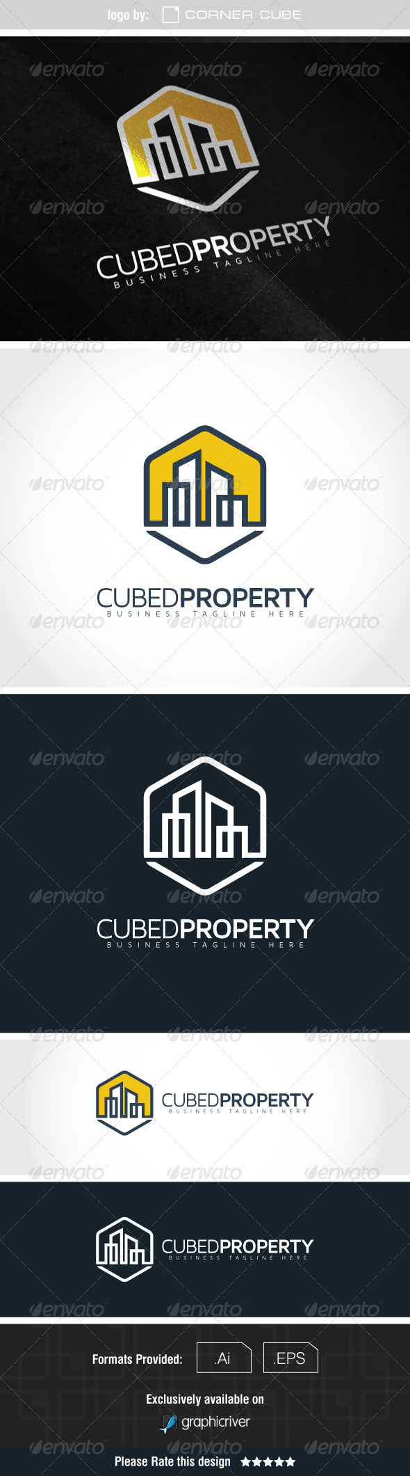 GraphicRiver Cubed Property Logo 7591686