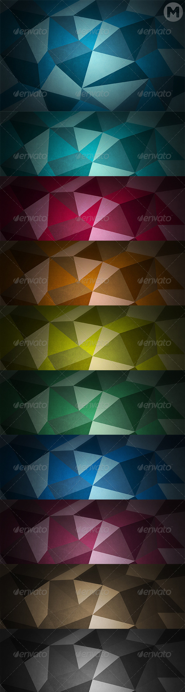 GraphicRiver Polygon Backgrounds 7591732