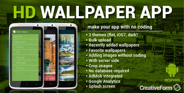 CodeCanyon HD Wallpaper App 7591811