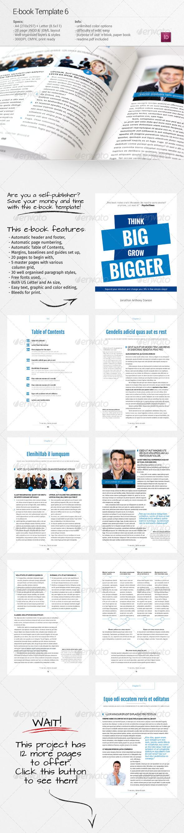 GraphicRiver E-book Template 6 7591868