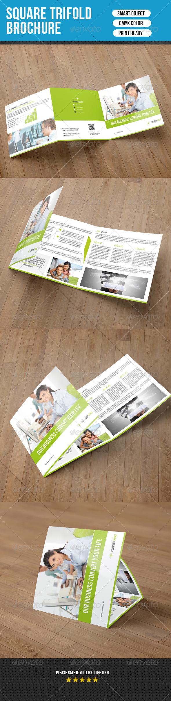 GraphicRiver Square Trifold Brochure-Business 7591891