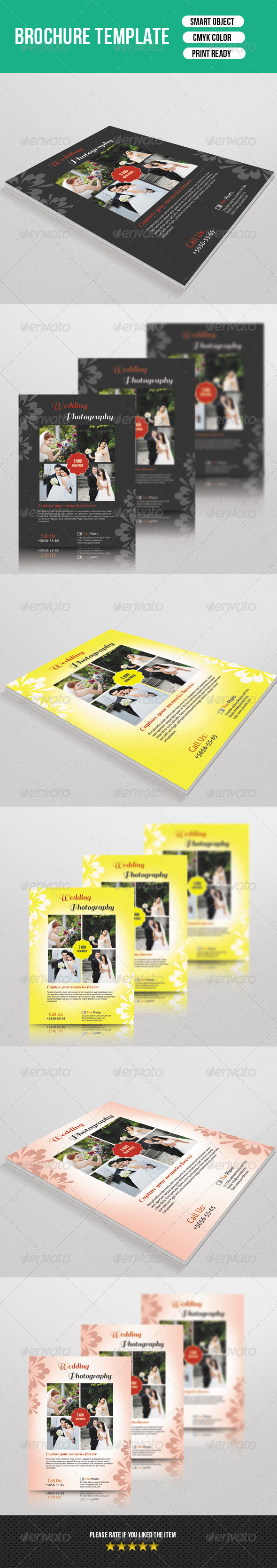 GraphicRiver Wedding Photography Flyer 7570218