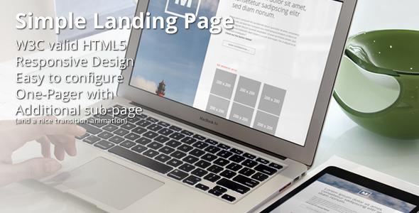 Minimalist - Responsive Double-Page Portfolio