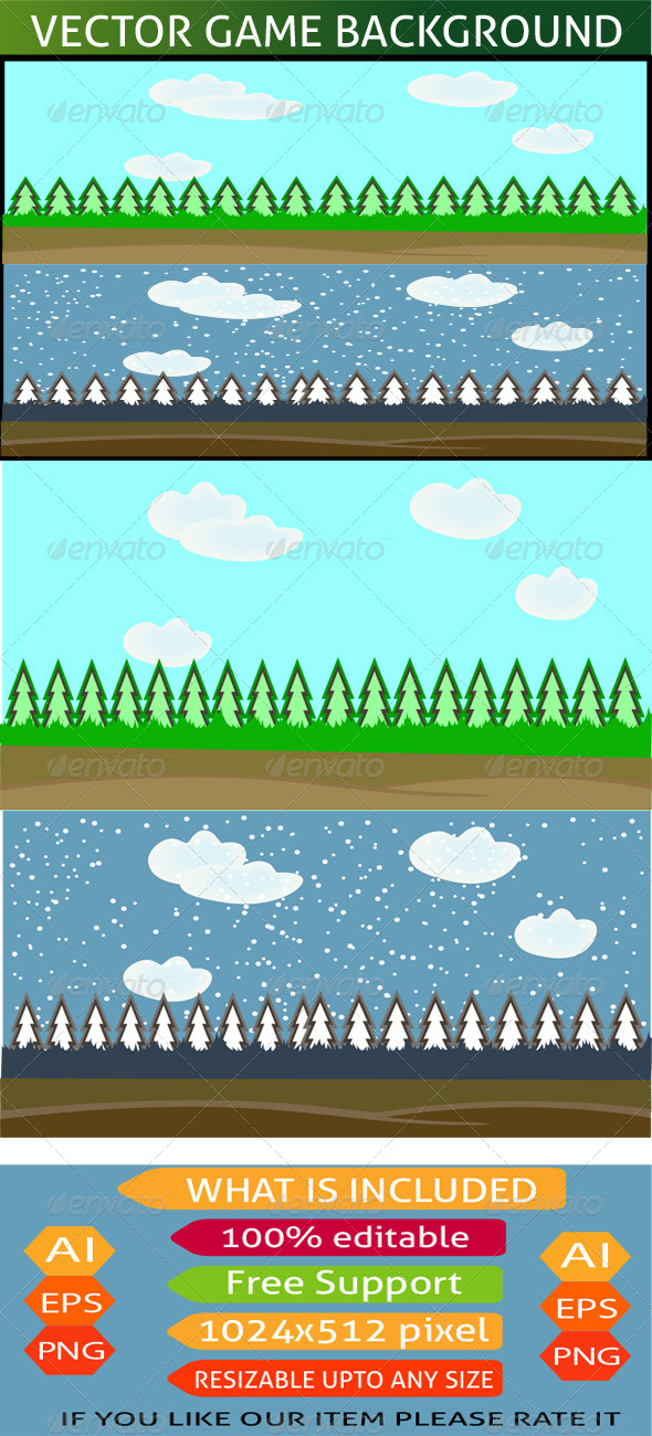 GraphicRiver Game Background 7592426