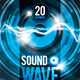 Sound Wave Party Flyer - GraphicRiver Item for Sale