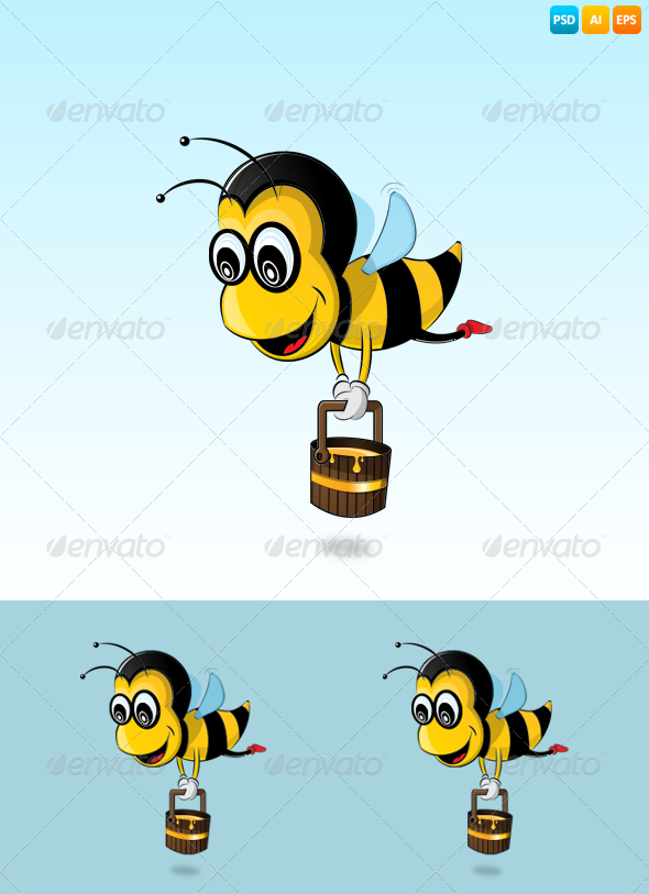 GraphicRiver Bee 7584468