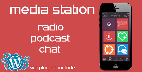 CodeCanyon Media Station Radio Podcast Chat 7593390