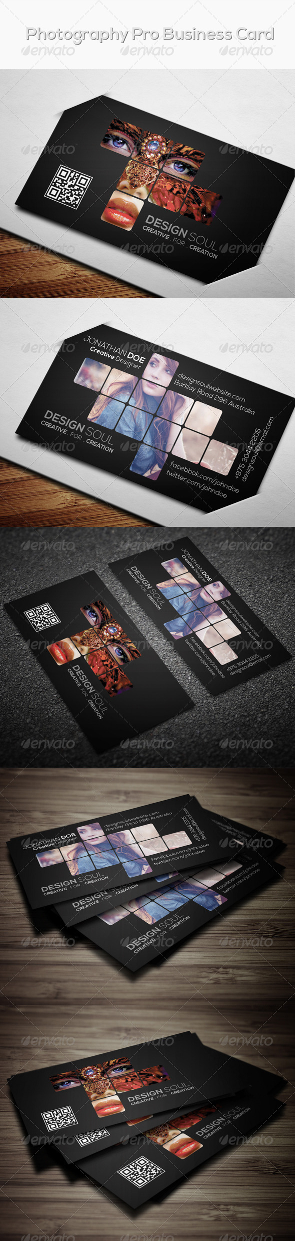 GraphicRiver Photography Pro Business Card 7593487
