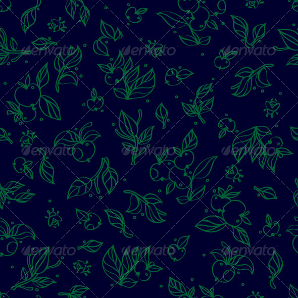 GraphicRiver Floral Linear Seamless Graphic Pattern 7593635