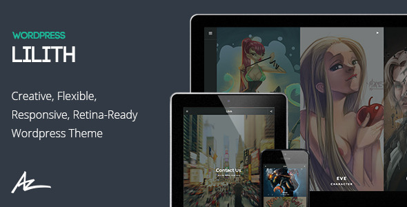 Lilith - Creative & Shop Wordpress Theme - Creative WordPress