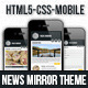 Mobile News Mirror Theme