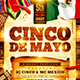 Cinco de Mayo Party Flyer Vol.2 - GraphicRiver Item for Sale