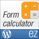 ez Form Calculator - WordPress plugin - CodeCanyon Item for Sale