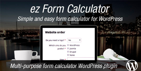 CodeCanyon ez Form Calculator WordPress plugin 7595334