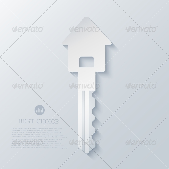 GraphicRiver Real Estate Icon Background 7595373